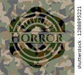horror on camouflage pattern | Shutterstock .eps vector #1288895221