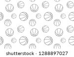 basketball pattern  ready to... | Shutterstock .eps vector #1288897027