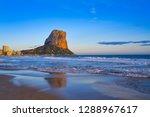 arenal bol beach in calpe also...   Shutterstock . vector #1288967617