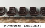 chairs  3d render illustration | Shutterstock . vector #1288968157