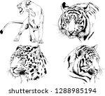 vector drawings sketches...   Shutterstock .eps vector #1288985194