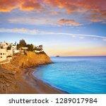 esparrello beach playa in... | Shutterstock . vector #1289017984