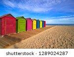 san juan of alicante beach... | Shutterstock . vector #1289024287