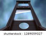 guillotine instrument for... | Shutterstock . vector #1289059327