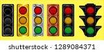 various of traffic light design ... | Shutterstock .eps vector #1289084371