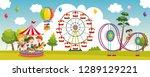 vector illustration of... | Shutterstock .eps vector #1289129221