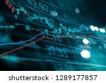 financial stock market...   Shutterstock . vector #1289177857
