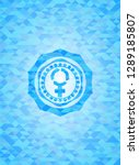women cycle icon inside... | Shutterstock .eps vector #1289185807