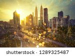 smart  cityscape with wireless... | Shutterstock . vector #1289325487