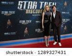 new york jan 17  actors rebecca ... | Shutterstock . vector #1289327431