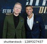 new york jan 17  actors anthony ... | Shutterstock . vector #1289327437
