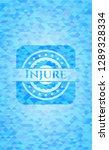 injure realistic light blue... | Shutterstock .eps vector #1289328334