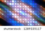abstract blue football or... | Shutterstock . vector #1289335117