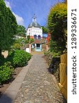 portmeirion village wales | Shutterstock . vector #1289336671