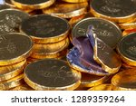 Chocolate Money Pile Of Gold...