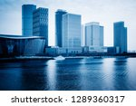 tianjin city waterfront... | Shutterstock . vector #1289360317