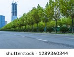empty urban road in the city | Shutterstock . vector #1289360344
