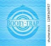 booby trap water emblem. | Shutterstock .eps vector #1289365957