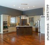 interior design of modern... | Shutterstock . vector #128937599