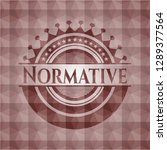 normative red seamless... | Shutterstock .eps vector #1289377564