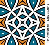 oriental traditional ornament ... | Shutterstock .eps vector #1289382841