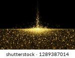 defocused glitters. sparkling...   Shutterstock .eps vector #1289387014