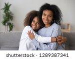 portrait of happy african... | Shutterstock . vector #1289387341