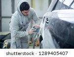 shot of professional repairman... | Shutterstock . vector #1289405407