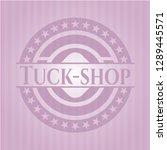 tuck shop pink emblem | Shutterstock .eps vector #1289445571