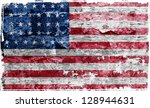 usa flag | Shutterstock . vector #128944631