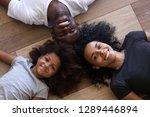 happy african american family...   Shutterstock . vector #1289446894