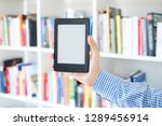 choosing a buying book and... | Shutterstock . vector #1289456914