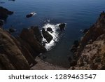corners of the coast of  cabo... | Shutterstock . vector #1289463547