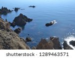 corners of the coast of  cabo... | Shutterstock . vector #1289463571
