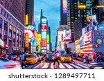 new york  usa   september 26 ... | Shutterstock . vector #1289497711