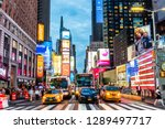 new york  usa   september 26 ... | Shutterstock . vector #1289497717