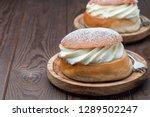 traditional swedish dessert... | Shutterstock . vector #1289502247