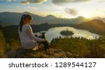 close up  lens flare  copy... | Shutterstock . vector #1289544127