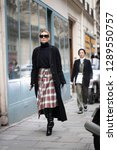 paris march 5  2018. street... | Shutterstock . vector #1289550757