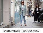 paris march 5  2018. street... | Shutterstock . vector #1289554057