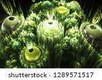 3d abstract fractal background. ...   Shutterstock . vector #1289571517