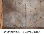 wheathered rust and scratched... | Shutterstock . vector #1289601364