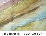 abstract watercolor painted... | Shutterstock . vector #1289635627