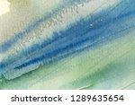 blue abstract grunge texture... | Shutterstock . vector #1289635654