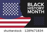african american history or... | Shutterstock .eps vector #1289671834