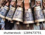 kukeri  mummers perform rituals ...   Shutterstock . vector #1289673751