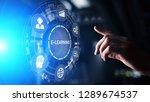 e learning online education...   Shutterstock . vector #1289674537