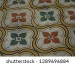 the old huses of scharloo ... | Shutterstock . vector #1289696884