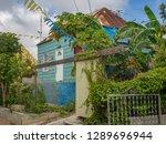 the old huses of scharloo ... | Shutterstock . vector #1289696944