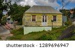 the old huses of scharloo ... | Shutterstock . vector #1289696947